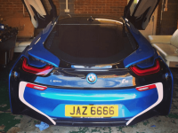 Total Tinting - Bmw I8 05 Percent Limo Tints
