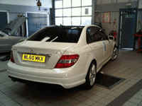 Total Tinting - Mercedes 2