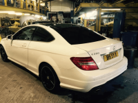 Total Tinting - Mercedes C220 20 Percent Medium Tints